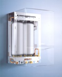 A mounted boiler system by B Warm Energy Solutions