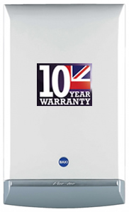 baxiplatinum 10 year warranty